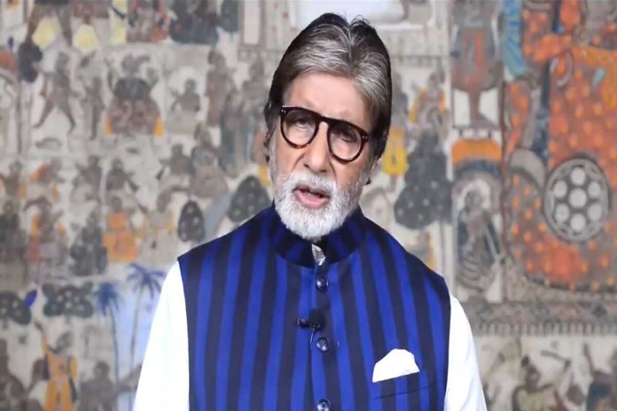 amitabh bachchan warns people by sharing video covid 19