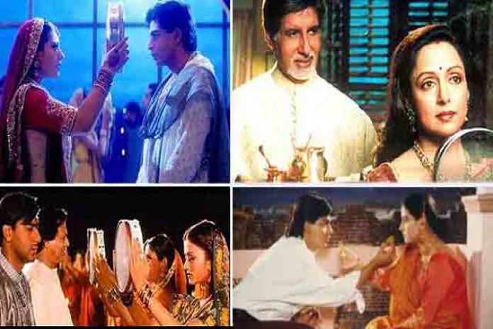 karwa chauth scenes in bollywood superhit movies