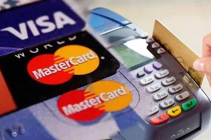 debit and credit card