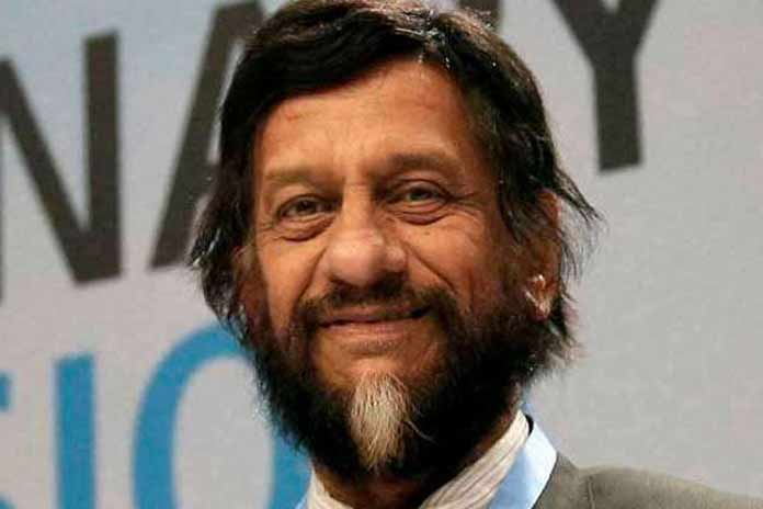 Environmentalist RK Pachauri