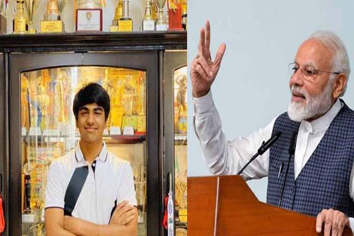 arjun bhati and pm modi
