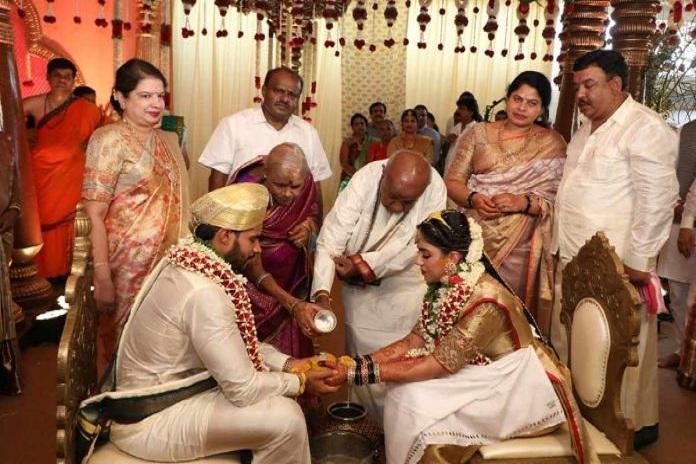 kumar swami son wedding