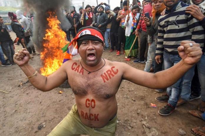 bihar protest