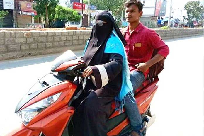 telangana women ride in lockdown