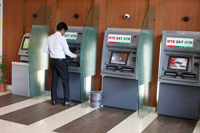 contactless atm service