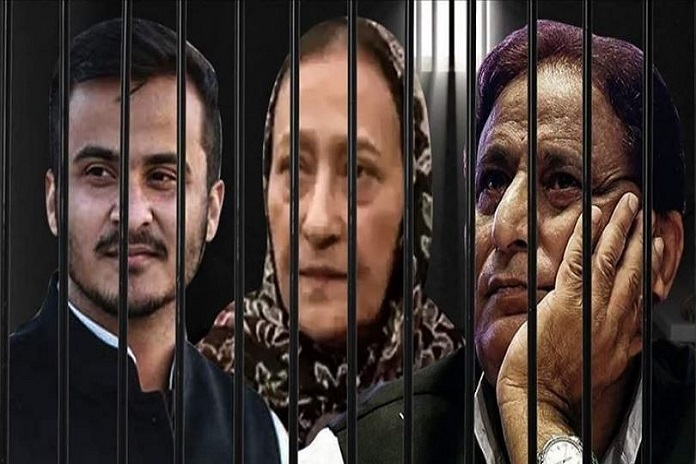 azam khan jail