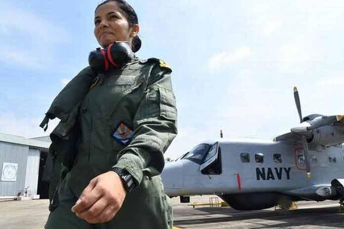 indian navys first woman