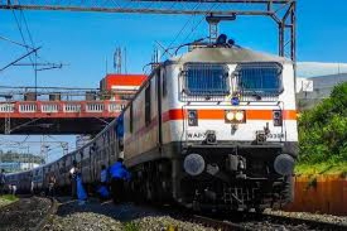 indian railway in corona lockdown