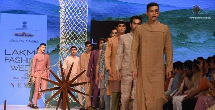 khadi fashion show