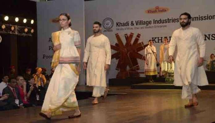 khadi through fashion shows