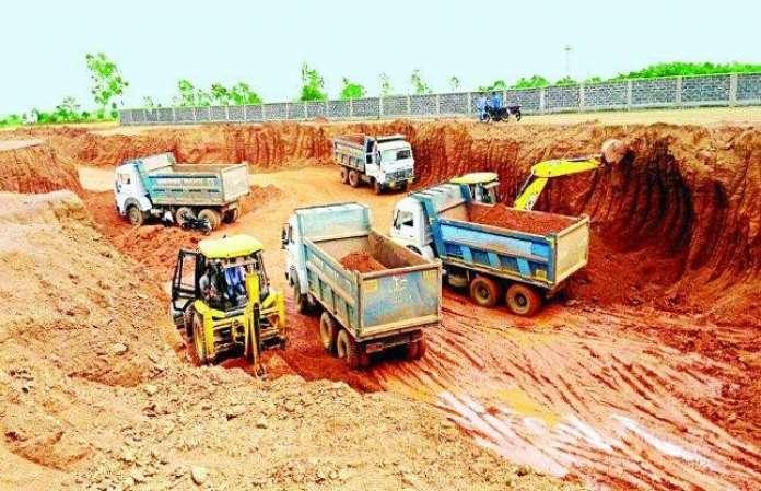 run illegal mining
